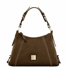 Dooney & Bourke Pebble Grain Small East/West Slouch