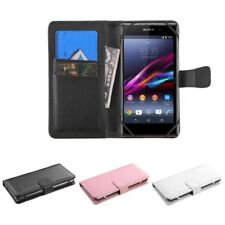 New Wallet Flip Leather Case Cover For Apple iPhone 4 5 5S HTC One M7 M8 LG G3
