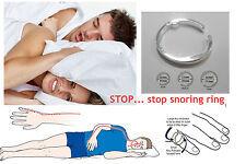 STOP snoring ring – snore device – stop insomnia sleep aid – natural treatment