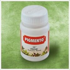 PIGMENTO ( CHARAK AYURVEDA) LEUCODERMA Skin White Patches ( 40 tablets pack )