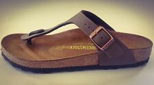 New Birkenstock Gizeh Classic Sandals - Mocca -  Made In Germany
