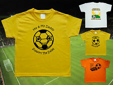 NEWPORT COUNTY Football Baby/Kid's/Children's T-shirt Top Personalised-Any team!