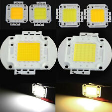 NEW 10W/20W/30W/50W/80W/100W Cool/Warm White High Power LED Lamp SMD Chip Light