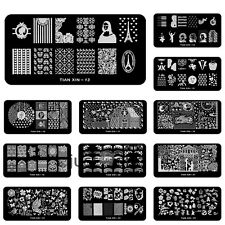 Nail Art  Steel plate Image Stamp Stamping Plates Manicure Template HOT