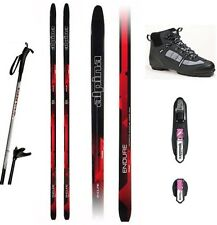 NEW ALPINA ENDURE XC cross country NNN SKIS & BINDINGS & BOOTS & POLES - 190cm