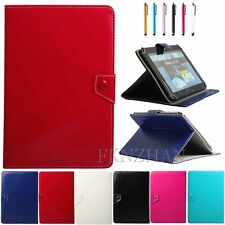 "USA Stock Universal Leather Folio Case Cover Fit For 9 10 10.1"" Inch Tablets PC"
