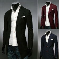 Cheap Mens Clothes Suits Jackets Fashion Casual Hooded Fleece Cardigan Sweater