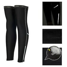 Cycling Bike Bicycle Leg Warmer Thermal Fleece Winter Guard Knee Running Sleeves