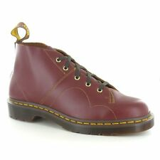 Dr Martens Dr Martens Church Unisex Leather Monkey Boots  Oxblood