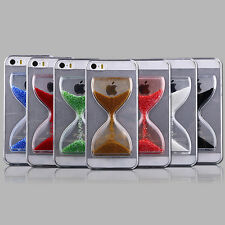 New Design Crystal Liquid State Hourglass Quicksand Back Hard Case Cover /E-ZONE