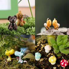 Frog Snails Animals Mini Fairy Garden Micro Dollhouse Pot Bonsai Terrarium Craft