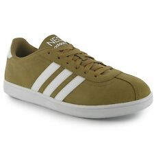 Adidas VL Court Suede Mens Shoes Trainers Sneakers Sports Footwear  Canvas/Wht