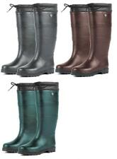 Dublin Adults Teign Wellington Boots Neoprene Lined Rubber Stable/Yard Boots ALL