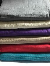 100% Cotten Throws For Chairs, Sofas & Beds 6 Colours To Choose from