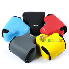 5 Colors Camera Lens Protector Case Bag Pouch Cover For Nikon COOLPEX P600 P530