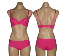 Pink Bra & Boyshort Panty Set Size 34B 36B 36C 38B 40C & M L XL Affordable NWT