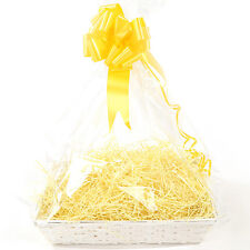 Baby Gift Basket DIY HAMPER KIT Large White Beale Baby shower storage maternity