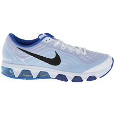 NIKE MENS UK SIZE 11 AIR MAX TAILWIND 6 WHITE/BLACK RUNNING TRAINERS SHOES NEW