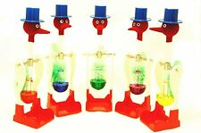 Novelty Dippy Drinking Bird Glass Dipping Duck Einstein Toy Happy Bobbing - UK
