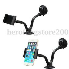 """2in1 Duty Car Windshield Mount Holder Stand For 7-10"""" Mobile Phone GPS Tablet PC"""