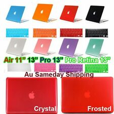 Crystal Matte Plastic Case Keyboard Cover For Macbook Air 11 13 Pro 13 Retina 12
