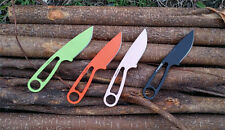 New Powder Coated 1095 Steel Fixed Blade Outdoor Survival Camp Utility Knife 38T