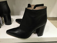 ZARA POINTY HIGH HEELED LEATHER BOOTS  36-41 Ref. 2104/001