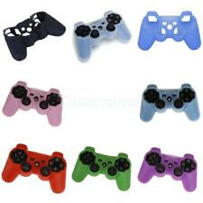 Silicone Skin Rubber Grip Protective Case Cover for Playstation 2 3 Controller