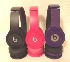 *NEW* Beats Solo HD By Dr. Dre On-Ear Headphone -3 colors (GENUINE & SHIPS FREE)