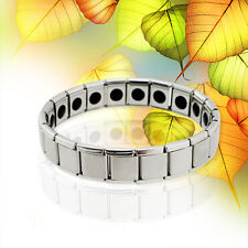 Titanium Health Bracelet Power Nano Energy Germanium Magnetic Balance powerful++