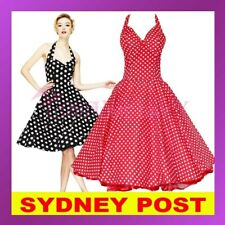 Rockabilly 1950s Vintage Evening Retro Pinup Swing Cocktail Dance Party Dress