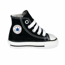 Boy's/Girl's Toddler CONVERSE ALL STAR HI TOP Chuck Taylor 7J231 Black Shoes New