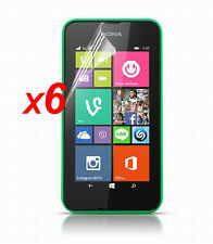 6x Anti-Glare Matte/ HD Clear Screen Protector Guard Film for Nokia Lumia 530