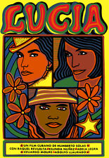 5157.Lucia.images of three women.cuban film.POSTER.Decoration.Graphic Art