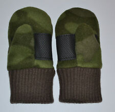 NEW Baby Gap Toddler Boy Camo Fleece Mittens Camouflage 12-24 mo & 2T-3T NWOT