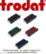 TRODAT PRINTY INK PADS - REPLACEMENT STAMP PAD FOR TRODAT PRINTY STAMPS SWOP