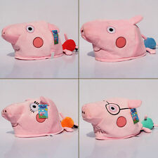 Peppa Pig Plush Cap George Peppa Pig Family Hat Cosplay Costume Toy Figure SET
