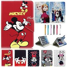 Universal PU Leather Stand Case Cover for Kids Cartoon Various 7 inch Tablet PC