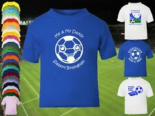 BIRMINGHAM CITY Football Baby/Kids/Childrens T-shirt Top Personalised-Any colour