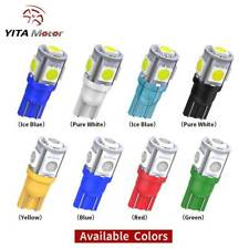 8 COLOR - T10 5050 5-SMD Dome Map License Interior LED Light bulbs 2825 158 192