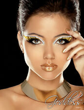 Goddess Rhinestone Glitter Eye Makeup Kit Costume Xotic Bold Stage Makeup Party