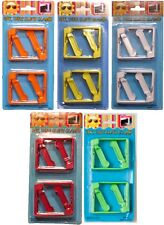 Tablecloth Clamp Set-8 Piece Spring-Loaded Clips, Yellow, Green,Orange,Red,White