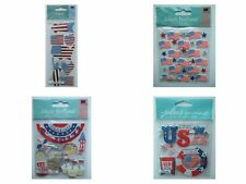 ~Your Choice~ Jolee's Boutique ~PATRIOTIC USA~ Dimensional Stickers; 4th of July