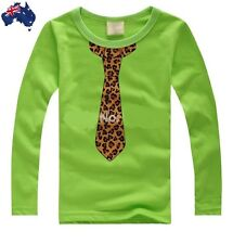 Cool Funky Bright Color Long Sleeve T-Shirt for Boys.Wear it Casually or Smartly