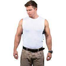CONCEALMENT CREW NECK PACKIN' TEE HOLSTER White CONCEALED CARRY HOLSTER SHIRT