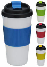 Double Wall Thermal Insulated Coffee Mug Coffee Tea Travel Mug Non Spill 500ml