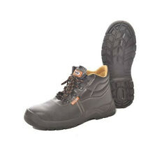 Hymac Black Steel Toe Cap and Mid Sole Safety Chukka Boots S1P HYM500