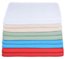 """20""""x40""""  Waffle Weave Microfiber Hair Body Drying Towels Ultra Absorbent"""