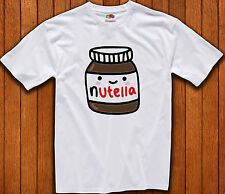 Nutella Cute Smiley Swag Hipster Funny Chocolate Men Woman Kids Tee T Shirt