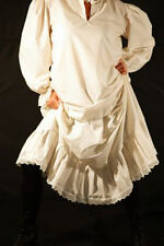 Steampunk-Victorian-Edwardian-LARP-Re enactment-FRILLED PETTICOAT- Ladies Sizes
